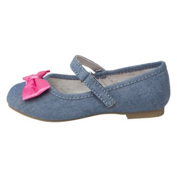 Zapatos Bow Minnie para niñas pequeñas