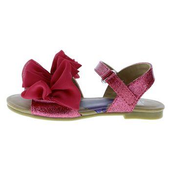 Sandalias Ruffle para niñas pequeñas